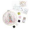 Mini Kit para bordar Virgen de Guadalupe