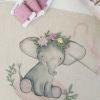 Mini Kit para bordar Elefanta