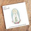 Sticker Virgen de Lourdes