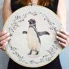 Lienzo Pinguino Bastidor 30cm