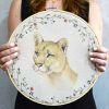 Lienzo Puma con Bastidor 30cm