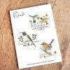 Set Stickers Picaflor Arica- Chucao- Picaflor Juan Fernández