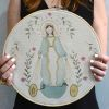 Lienzo Virgen de los Rayos Bastidor 30cm
