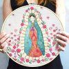 Lienzo Virgen Guadalupe Bastidor 30cm