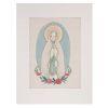 Lienzo para bordar Virgen de Lourdes