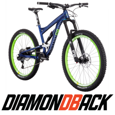BICICLETA ENDURO DIAMONDBACK MISSION 1 27.5