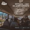 Entrada con bus de acercamiento: domingo 2 de febrero