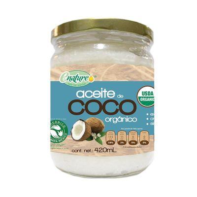 Enature Aceite De Coco Organico 420 ml