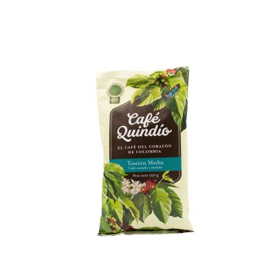 Cafe Quindio Tostion Media 500g Grano