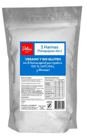 Mix 3 Harina Sin Gluten 700g Dilici