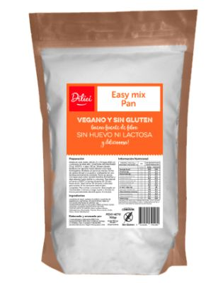Mezcla Para Pan Sin Gluten 700g Dilici