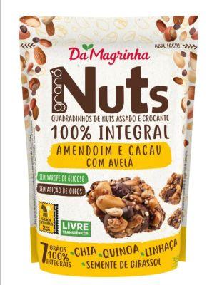 Snack Nuts Mani, Cocoa y Avellanas 100% Integral 35g