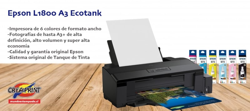 impresora epson l1800 a3