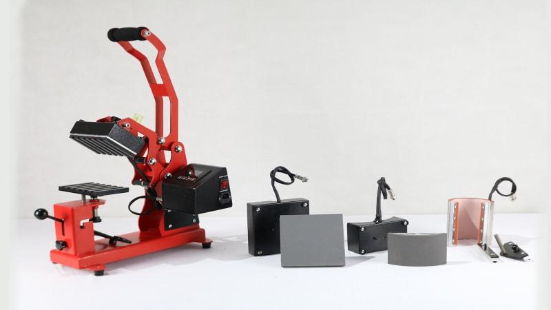maquina prensa calor 4 en 1 lapiz tazon jockey y plana mod pp 10e
