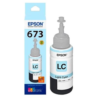 BOTELLA DE TINTA EPSON ® T673520-AL Cyan Claro1