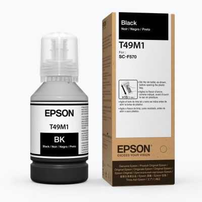 BOTELLA DE TINTA EPSON ® 140 ML NEGRO T49M1201