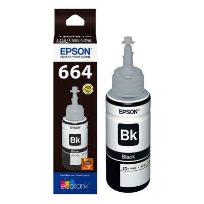 Epson® Tintas-Botella T664120-AL Negro EcoTank1