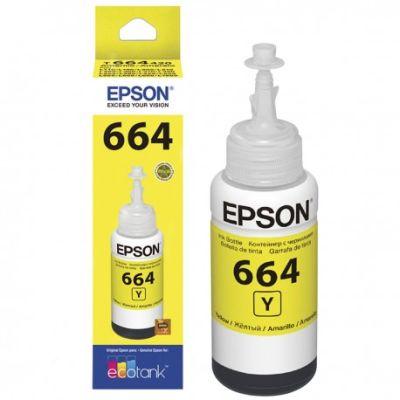 Epson® Tintas-Botella T664420-AL Yellow EcoTank1