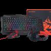 Redragon Combo teclado + mouse + audifono S101-BA-SP