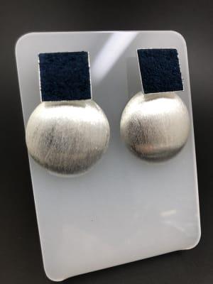 BA4088-Aros medians Bs Cu Cuadrada Azul Placa Guat PL