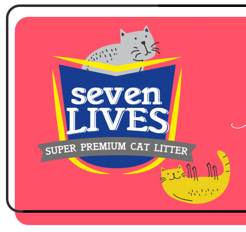 seven lives odor seal effect with active carbon