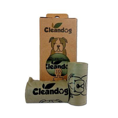 CLEANDOG 100% BIODEGRADABLE BAGS1