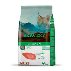 BRAVERY CHICKEN KITTEN