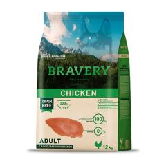 BRAVERY CHICKEN ADULT LARGE/MEDIUM BREEDS