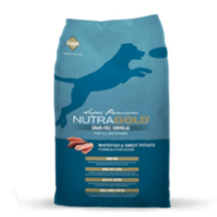NUTRA GOLD GRAIN FREE WHITE FISH