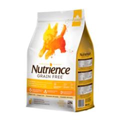 NUTRIENCE GRAIN FREE SMALL BITES PAVO/POLLO/ARENQU